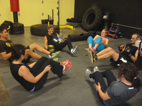 martial arts group fitness class